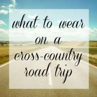 How to Pack for a Cross Country Road Trip