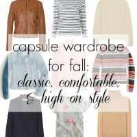 Capsule Wardrobe: Autumn Classic