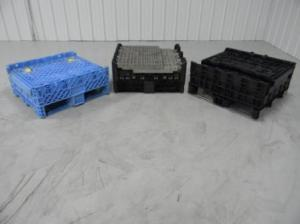 Collapsible Used Pallet Containers