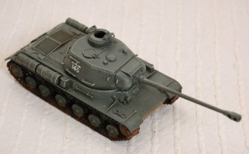 IS-2 front right view