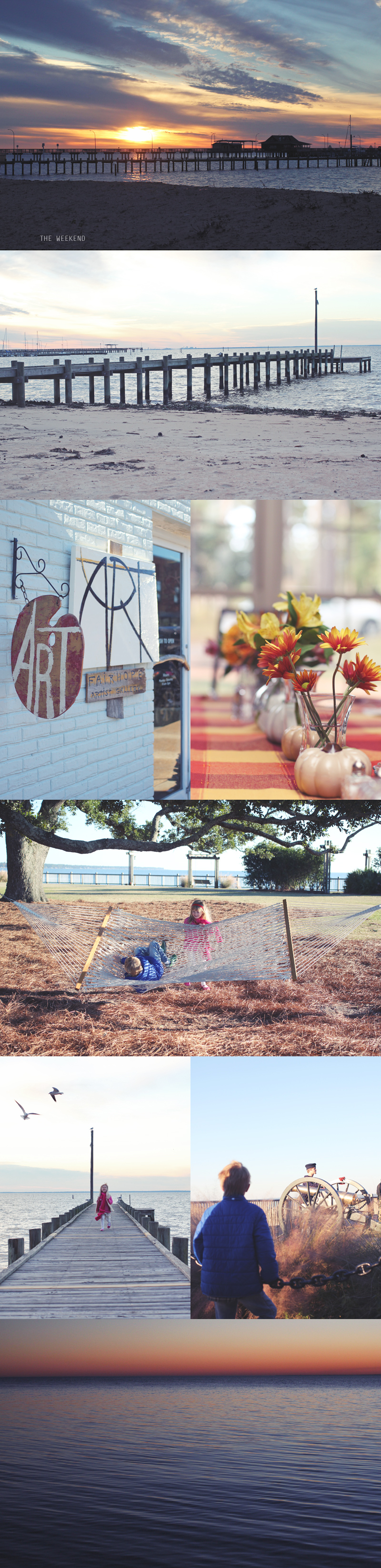 thanksgiving weekend in fairhope, alabama