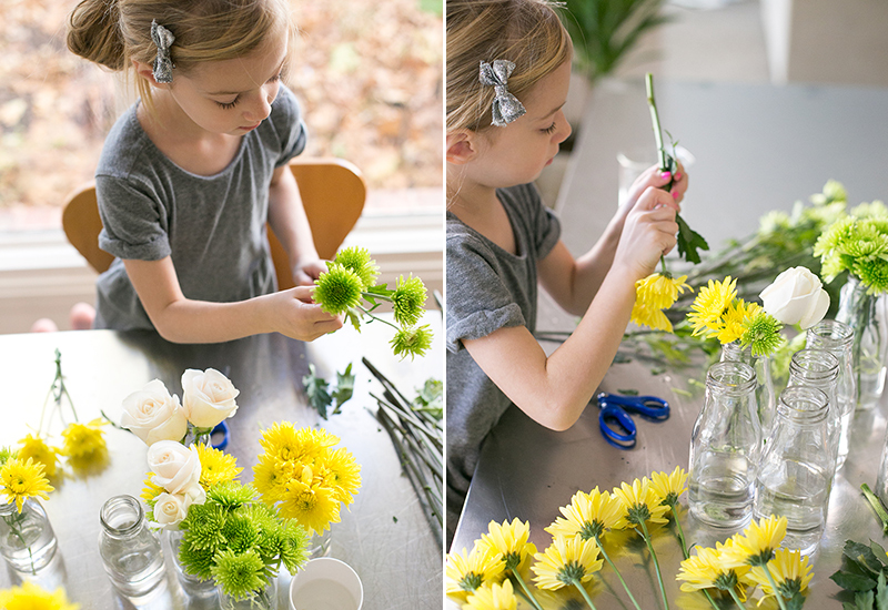 Flower Shop: Floral Arranging With Kids | Warm Hot Chocolate