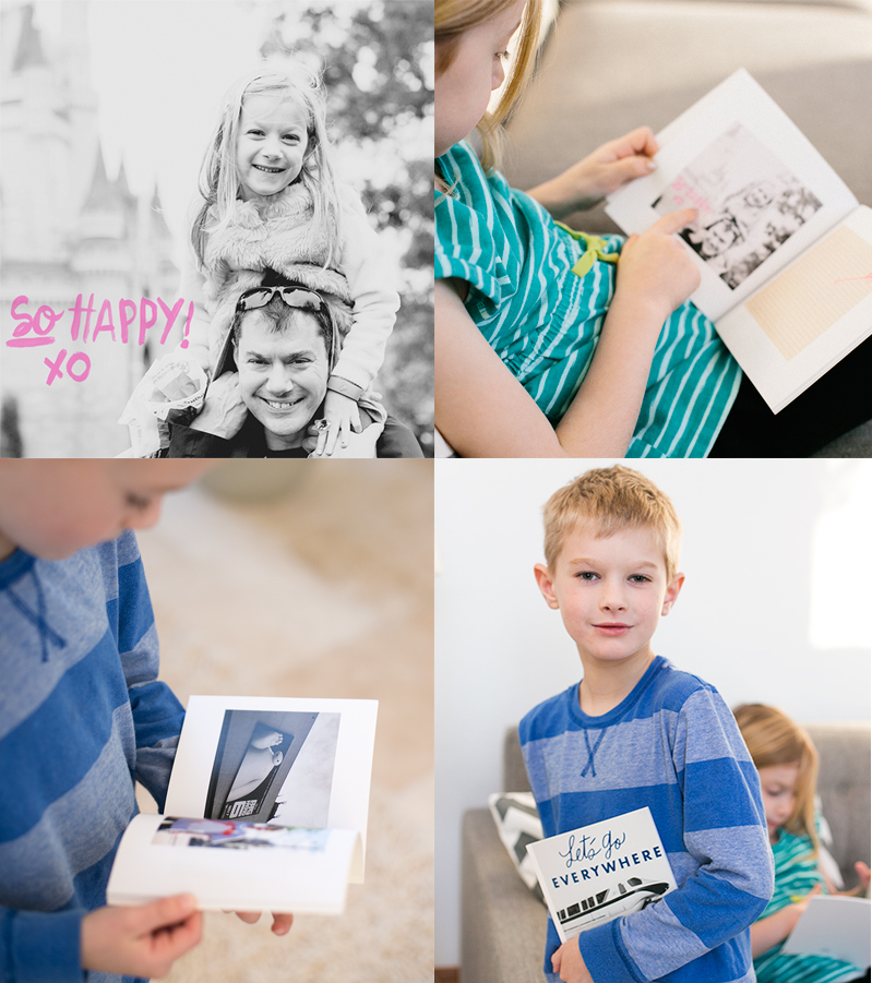 My process for creating awesome and inexpensive custom travel journals for my children - so easy to create these on your phone.