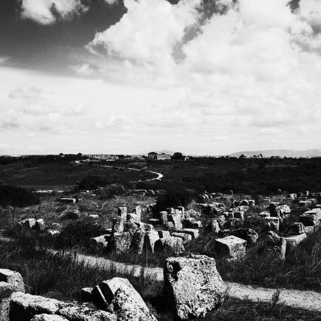Sicily September 2016  Sicilia Temples BlackandWhite Edit 6 hellip