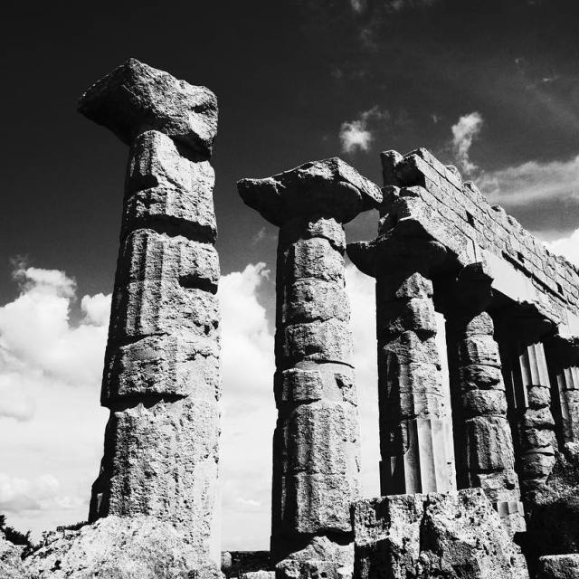 Sicily September 2016  Sicilia Temples BlackandWhite Edit 4 hellip