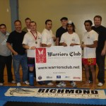 Warriors Club & Richmond Sports Club Team