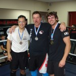 Warrior Mark Low who did great at his first ever Kickboxing tournament
