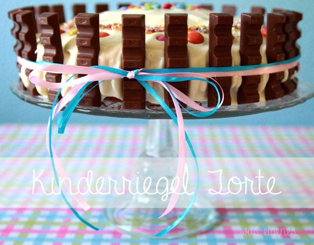 Kinderriegel Torte! | Rezept & Anleitung