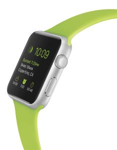 Die Apple Watch. Foto: (c) Apple