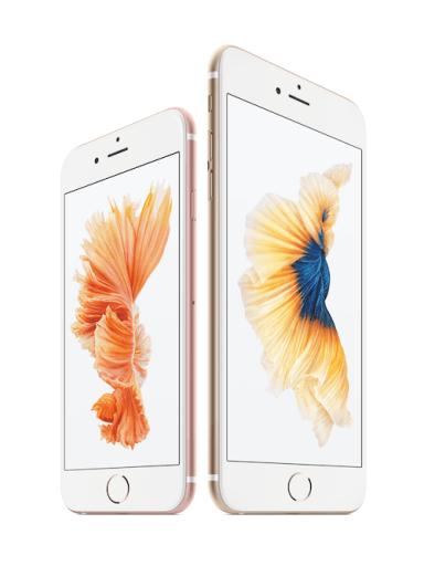 iPhone 6s und iPhone 6s Plus. Foto; Apple