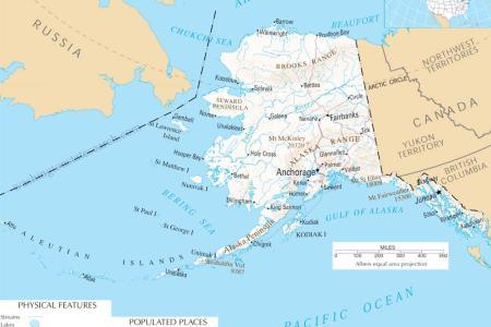 map of alaska, alaska maps mapsof.net