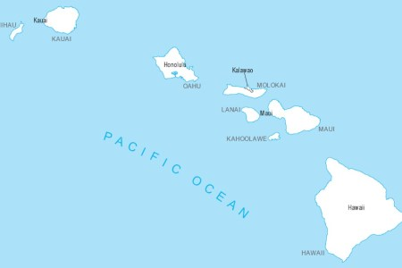 similiar map of hawaii united states map keywords