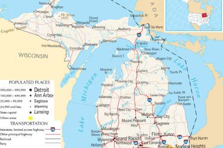 map of michigan related keywords & suggestions map of