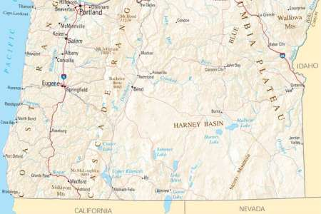 map of oregon related keywords & suggestions map of