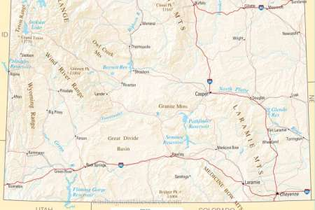 map of wyoming related keywords & suggestions map of