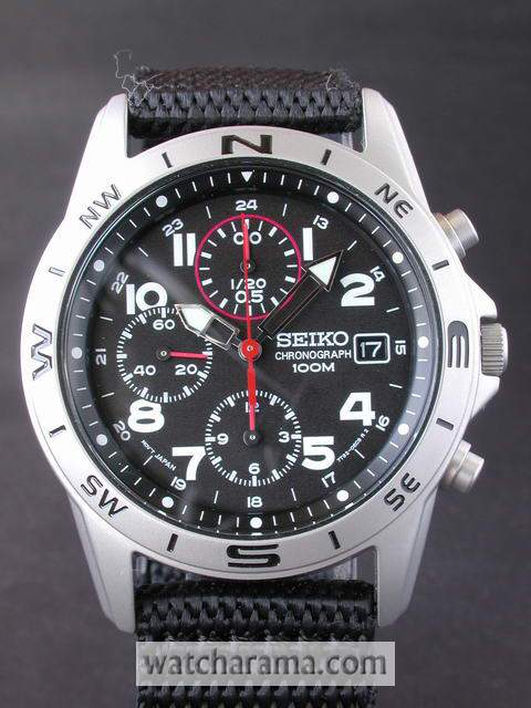 Seiko Quartz 12 Hour Chronograph