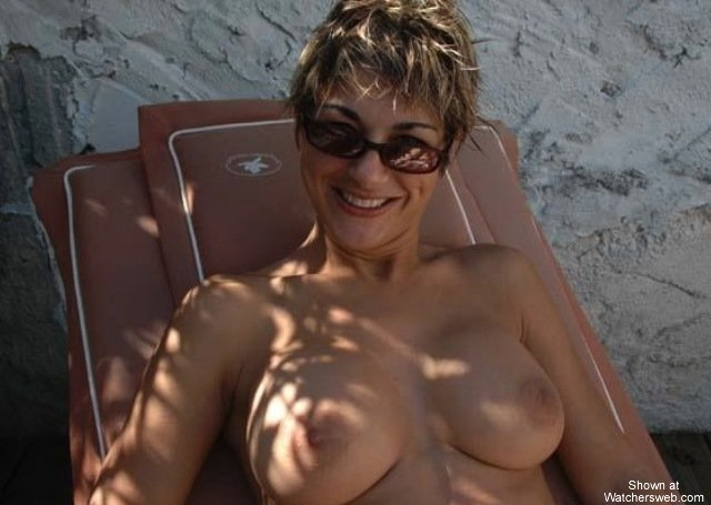 topless wife vacation dare