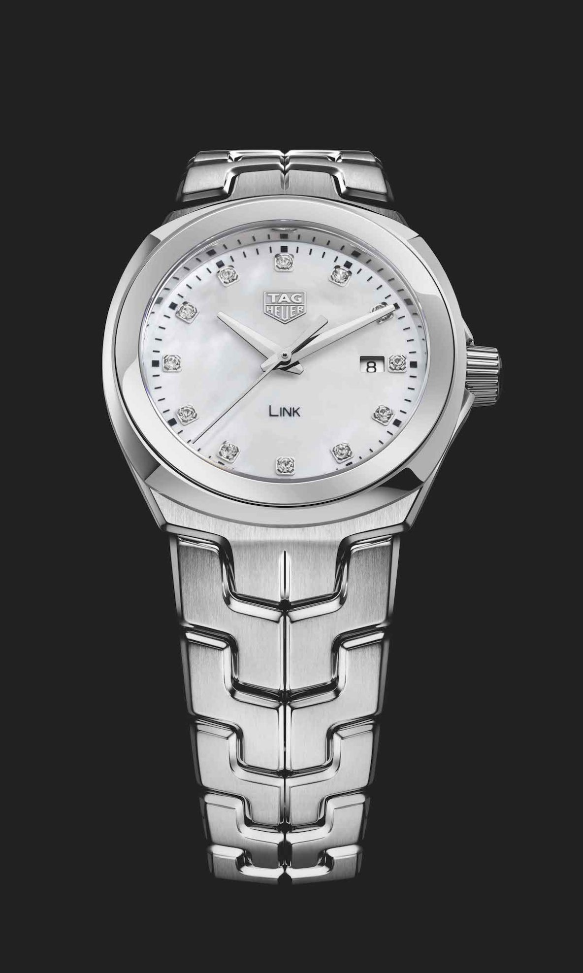 Meet the new tag heuer link ladies watchisthis for Tag heuer c flex