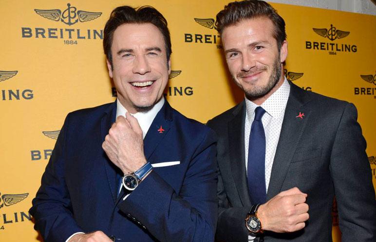 Breitling-Beckham-Travolta-Londres