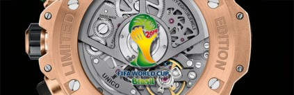 Big Bang Unico Chrono Bi-Retrograde logo coupe du monde 2014