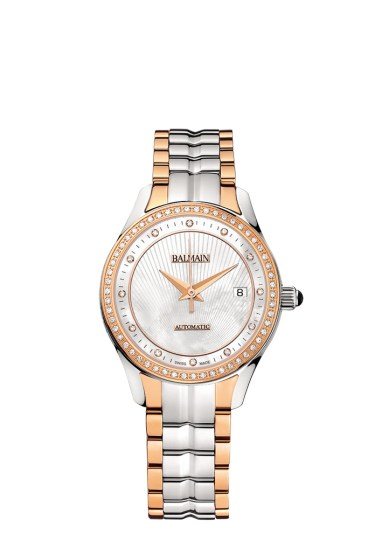 Balmain Maestria Round Automatic modèle pour femme avec diamants