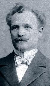 Portrait de Léon Breitling, fondateur de la marque Breitling