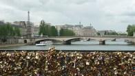 Panorama sur Paris depuis le pont des Arts