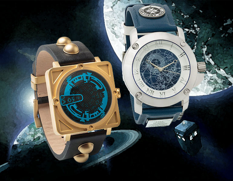 Les montres Doctor Who