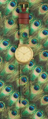 montre Wizard Print Peacock de Komono