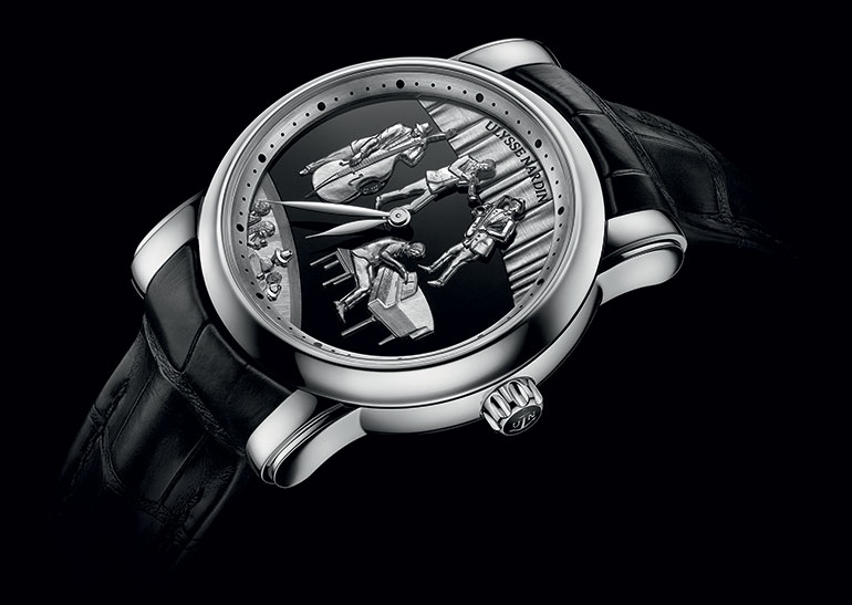 Ulysse Nardin Jazz Minute Repeater position pub