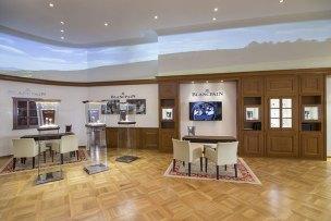 Blancpain boutique new york écran de projection