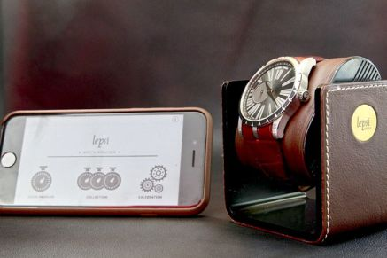 LEPSI Watch Analyser socle et application