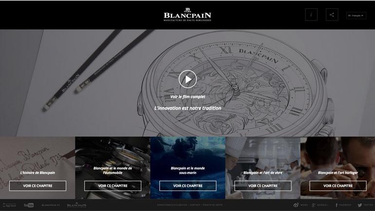 Capture Ecran Film Blancpain