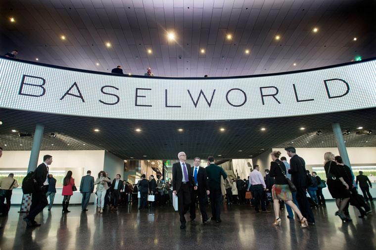 Entrée hall baselworld
