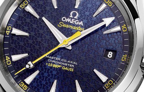Baselworld2015 Seamaster Aqua Terra 150M James Bond blason James bond Zoom Cadran