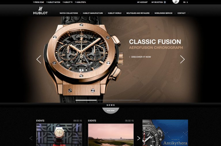 Capture Site Hublot Fevrier 2015