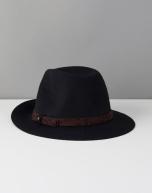 Chapeau en laine noir, Promod