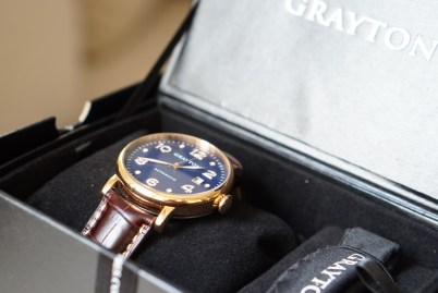 Grayton automatic watches boite