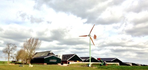 EAZ Twaalf windturbine, Via EAZ Wind
