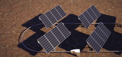 Qbotix robot solartracker