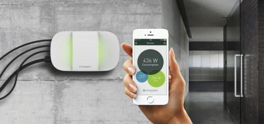 Smappee energiemonitor, via Smappee