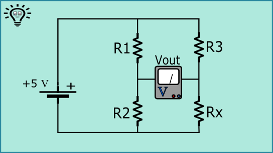 wheatstone bridge circuit diagram