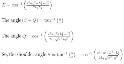 Forward kinematic equations