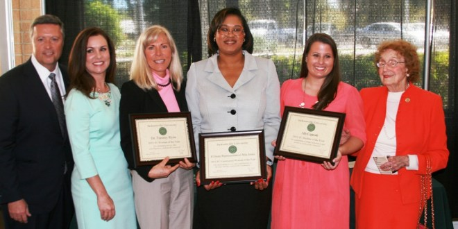 Rep. Mia Jones, Prof. Tammy Ryan and senior Ally Capriotti honored as JU Women of the Year