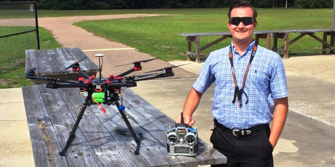 MPP/MBA student's drone imaging company cleared for takeoff with coveted FAA exemption