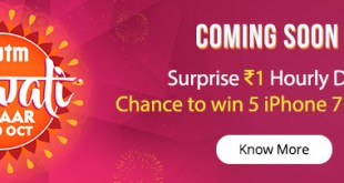 paytm-diwali-bazaar-from-18th-to-20th-oct-2016
