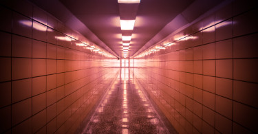 Hallway in The Glen Canyon Dam Facility