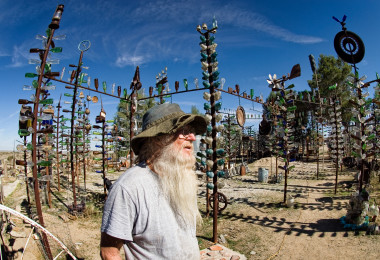 Elmer, Creator of the Bottle Tree Ranch