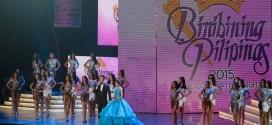 Toni Gonzaga and Xian Lim hosting the Bb. Pilipinas 2015 - Q & A Portion