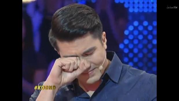 Luis Manzano cried crying KDOND Anne Curtis pisonaryo 1